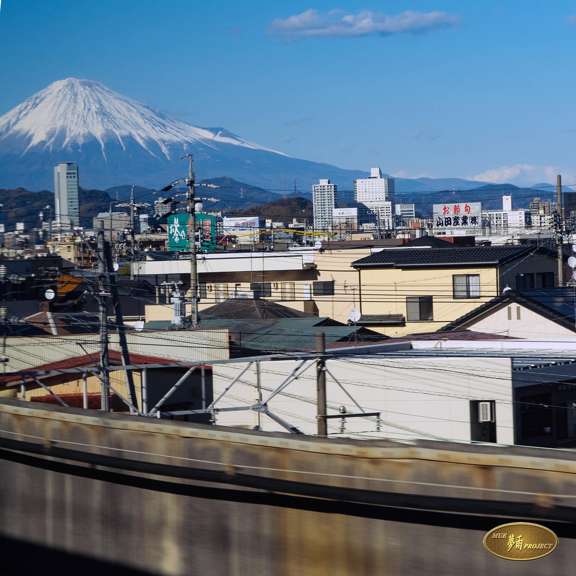 「A席から見える富士山~静岡あたり」