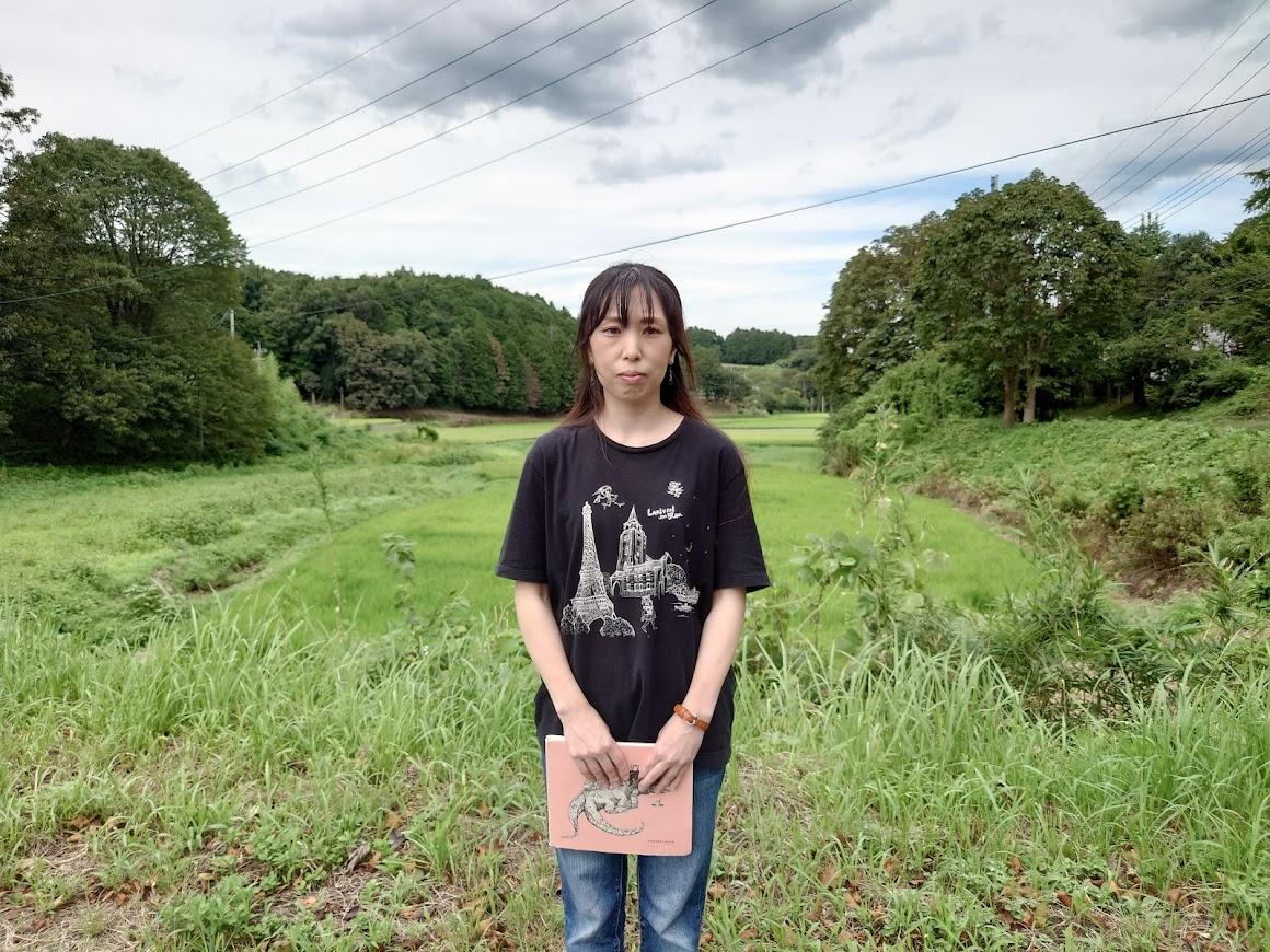 栃木県益子在住の絵描き・加藤靖子さんインタビュー